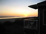 Sunset View from Our Netarts Oregon Beach Rental on the Oregon Coast